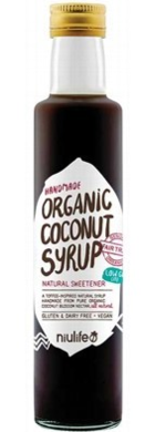 "NIULIFE ""COCONUT SYRUP"" 250ml"