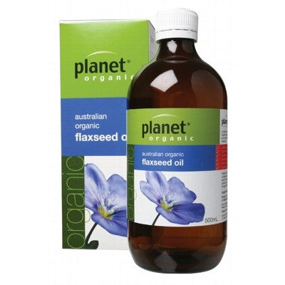 PLANET ORGANIC Australian Flax Oil 500ml
