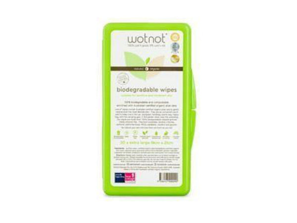 Wotnot biodegradable travel pack 20x wipes