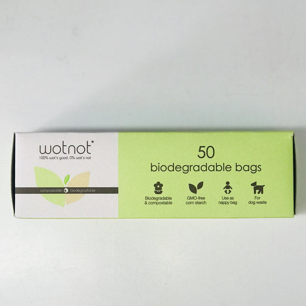 Biodegradable Nappy Bags 'Wotnot'