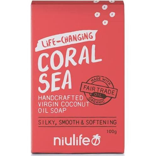 Certified Organic Virgin Coconut Oil Soap 'Niulife' 100g