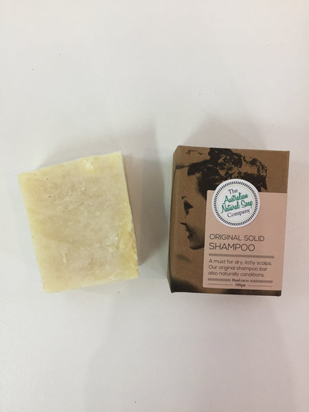 Solid Shampoo Bars 'The Australian Natural Soap Company' 100g