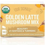 GOLDEN LATTE WITH SHIITAKE & TURMERIC UNLOCK INNER BEAUTY
