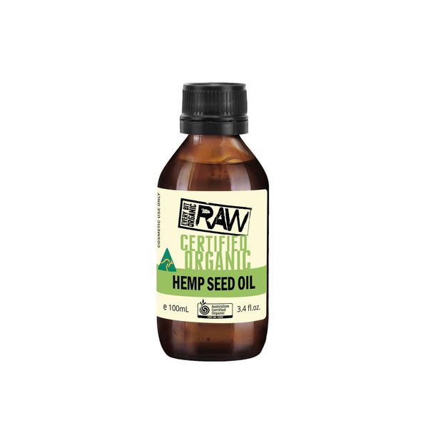 Hemp Oil 'Every Bit Organic Raw' 100ml