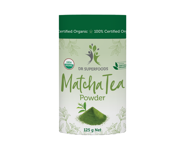 "Matcha Tea Powder ""Dr Superfoods"" 125g"