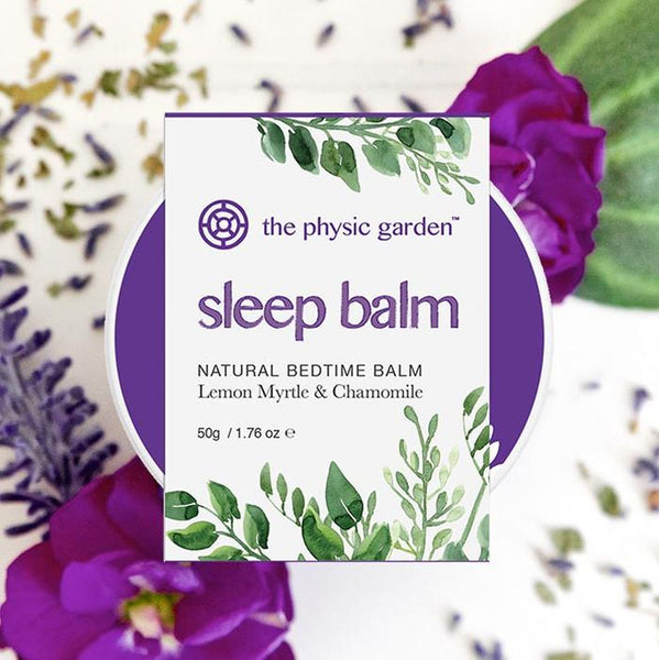 The Physic garden 'Sleep Balm' 50g (Lemon Myrtle & Chamomile)