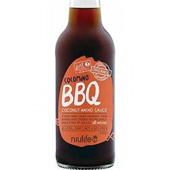 Niulife - BBQ Coconut Amino Sauce - 250ml Bottle