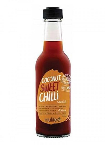Niulife- Sweet Chilli - Coconut Amino Sauce - 250ml Bottle