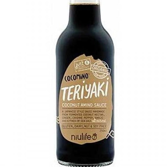 Niulife - Teriyaki Coconut Amino Sauce - 250ml Bottle