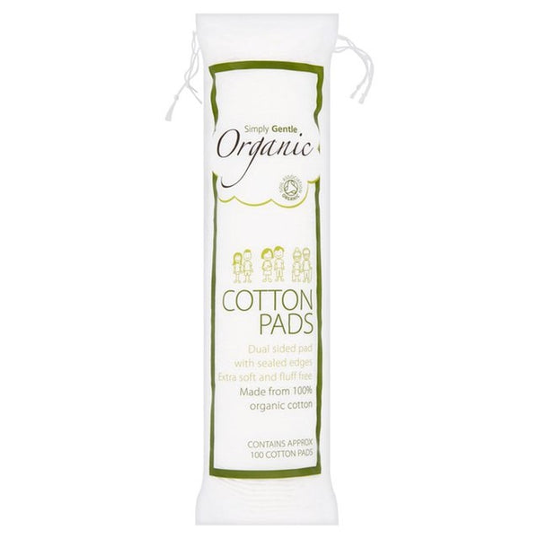 Organic Cotton Pads 'Simply Gentle Organic' 100 pads