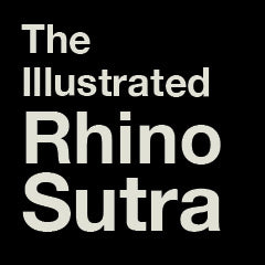 Temporary cover placeholder for The Illustrated Rhinoceros Sutra
