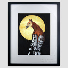 Load image into Gallery viewer, She Walks in Beauty, Collaboration Artwork, Okapi