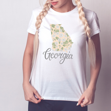 Load image into Gallery viewer, Georgia State Map T-shirt