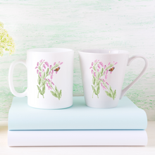 Load image into Gallery viewer, Letter K Floral Monogram Mug