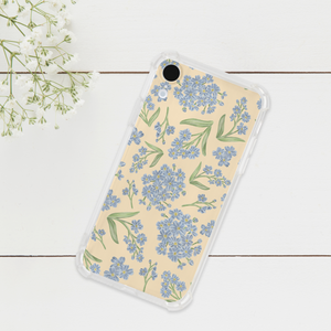 Forget Me Nots Pattern Phone Case