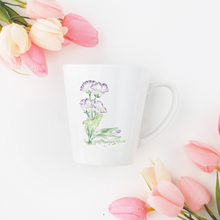 Load image into Gallery viewer, Letter L Floral Monogram Mug