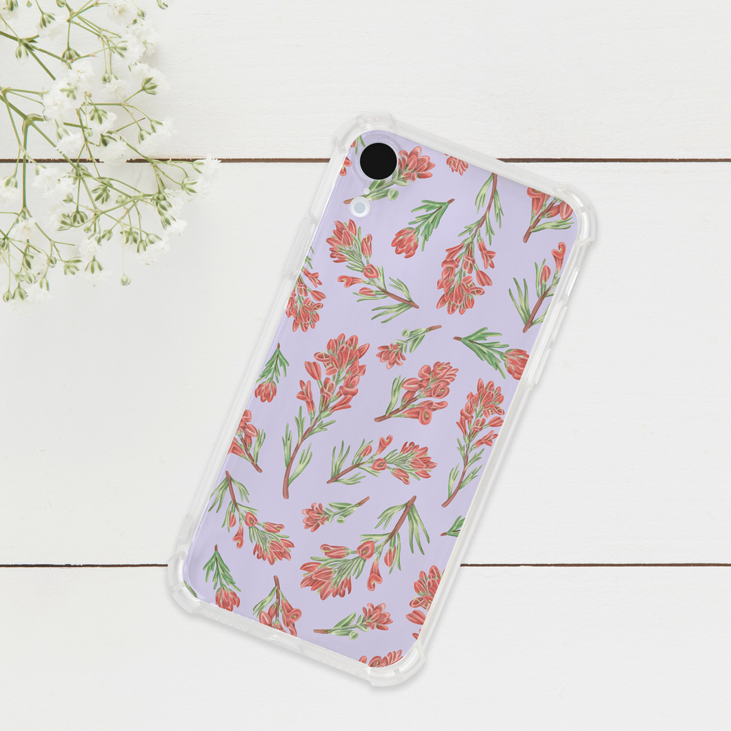 Indian Paintbrush Flower Pattern Phone Case