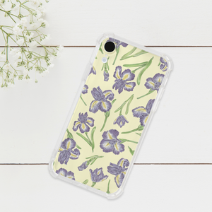 Iris Pattern Phone Case