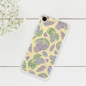 Lilac Pattern Phone Case