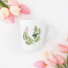 Load image into Gallery viewer, Letter U Floral Monogram Mug
