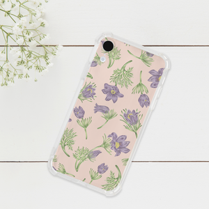 Pasque Flower Phone Case