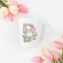 Load image into Gallery viewer, Letter B Floral Initial Mug