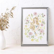 Load image into Gallery viewer, Virgo Sign Art Print