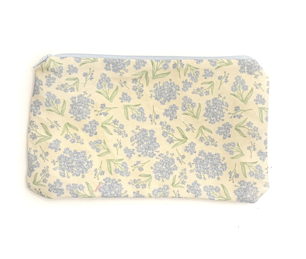 Forget me not flower Zipper Pouch