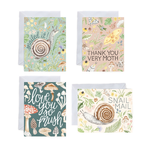 Forest Card Set of 4