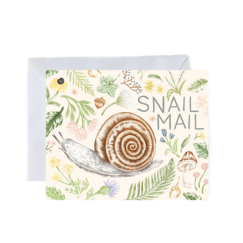 Snail Mail - Greeting Card