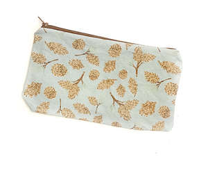 Pinecone Zipper Pouch