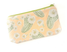 Load image into Gallery viewer, Saguaro Cactus Zipper Pouch