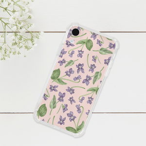 Wood Violet Phone Case
