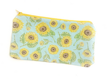 Load image into Gallery viewer, Sunflower Zipper Pouch