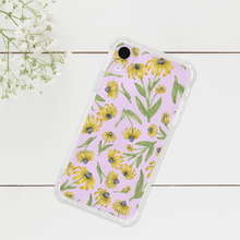 Load image into Gallery viewer, Black Eyed Susan Pattern Phone Case