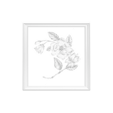 Load image into Gallery viewer, Magnolia Flower Art Print
