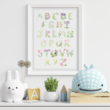 Load image into Gallery viewer, Alphabet Art Print