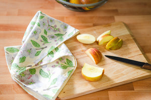 Apple Blossom Tea Towel