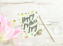 Load image into Gallery viewer, Happy Mother's Day Folded Card