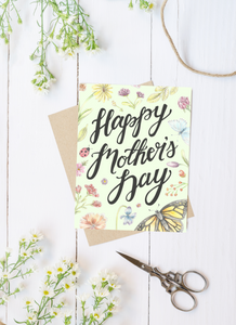 Happy Mother's Day Folded Card
