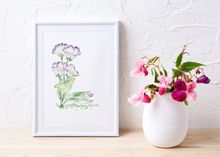 Load image into Gallery viewer, Letter L Initial Floral Print