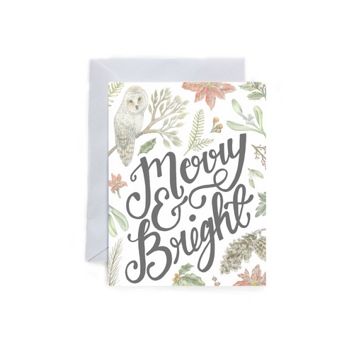 Merry and Bright - Holiday Card