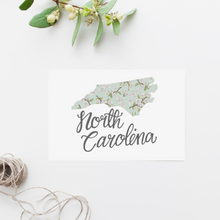 Load image into Gallery viewer, North Carolina State Map Postcard