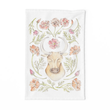 Load image into Gallery viewer, Taurus Sign Tea Towel