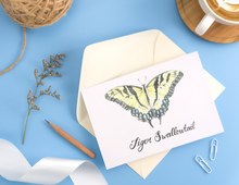 Load image into Gallery viewer, Tiger Swallowtail Butterfly Folded Butterfly