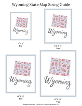 Load image into Gallery viewer, Wyoming State Flower Art Print