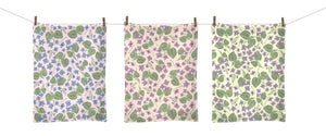 Meadow Violet Tea Towel