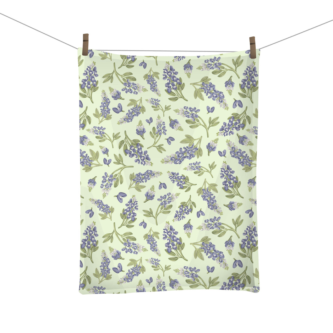 Texas Bluebonnet Tea Towel