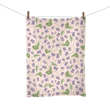 Load image into Gallery viewer, Wood Violet Tea Towel