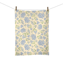 Load image into Gallery viewer, Forget Me Not Tea Towel